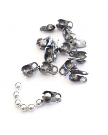 embout pour chaine bille 2.4mm