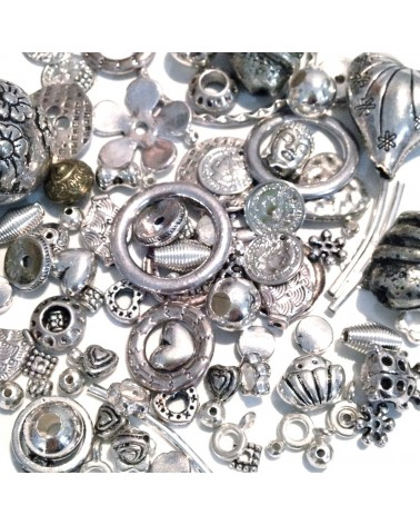 Mix assortiment 200 Breloques & Perles