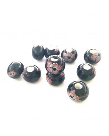 X2 perles céramique 12mm