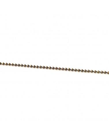 x 10m chaine à billes 1.5mm