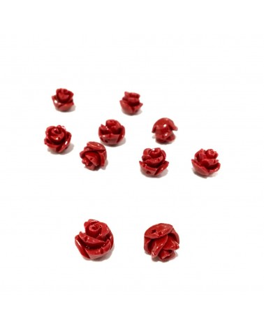 X1 Rose corail synth 7mm
