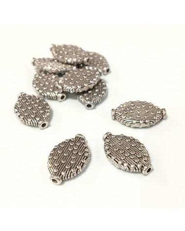 X2 Perles losanges 15x10mm