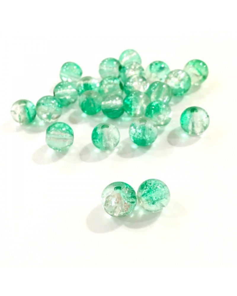 X50 cracked beads 8mm