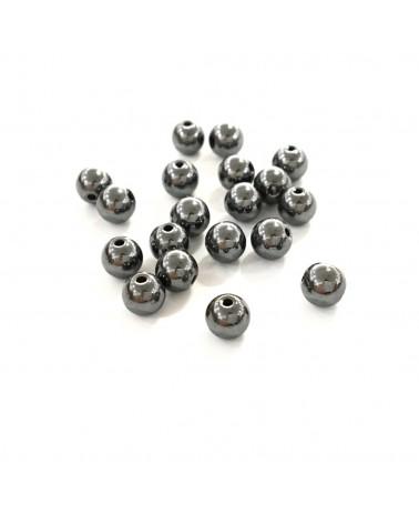X20 Hématites 4mm