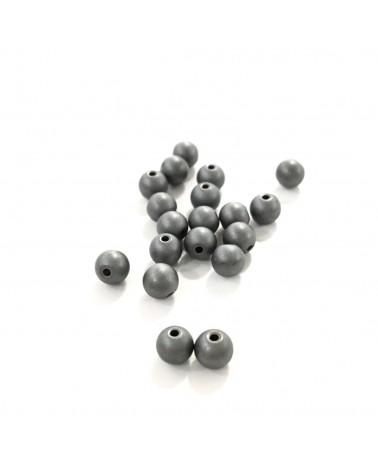 X20 Hématites mattes 4mm