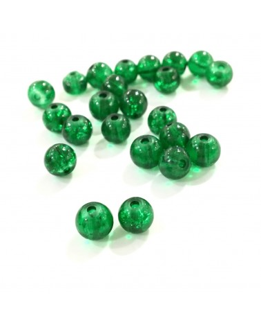 X15 cracked beads 6mm