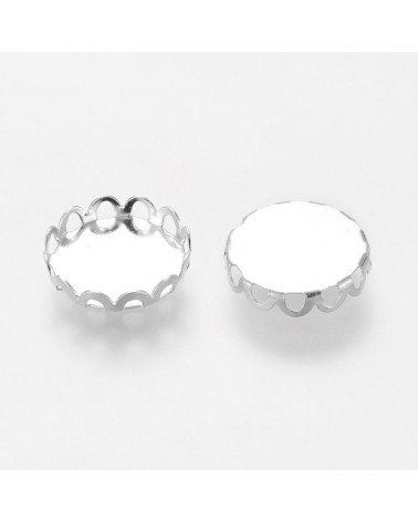 x5 supports pour cabochon 12mm