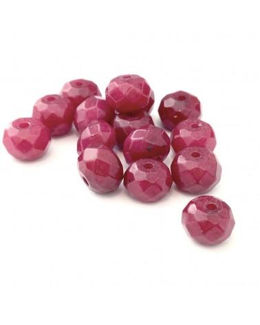 Perle pierre Jade 7x5mm