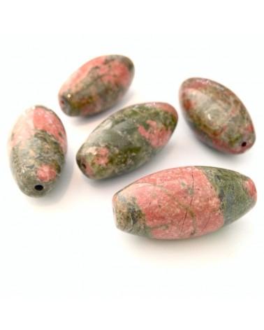 X1 Perle pierre Unakite 30mm