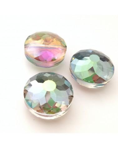 Perles facettes multi-facettes 18x10mm