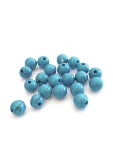 X2 Turquoise teintée 6mm