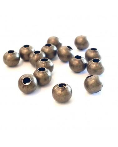 x1 perle ronde creuse  6mm