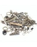 Mix Apprets métal argenté antique