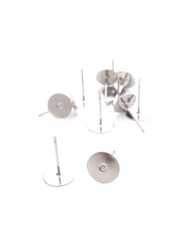 Puce d'oreille plateau 8mm
