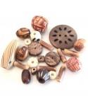 MIX perles naturelle 6 à 30mm