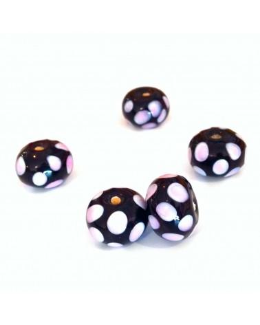 Perles verre 15mm