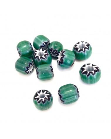 X10 perles africaines à chevrons