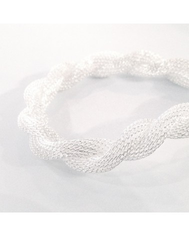 Chaine maille torsade 8mm