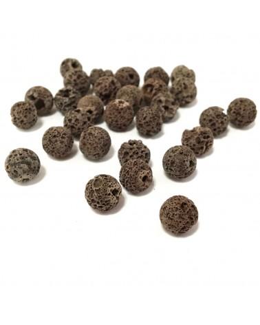 X2 perles de laves 8mm