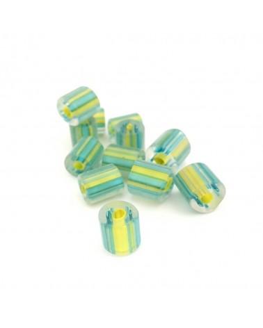 X10 Perles chevron 8 à 12mm