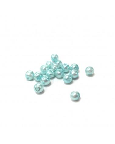 X10 Perles verre cirées 3mm