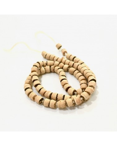 x20 perles rondelles coco 2mm