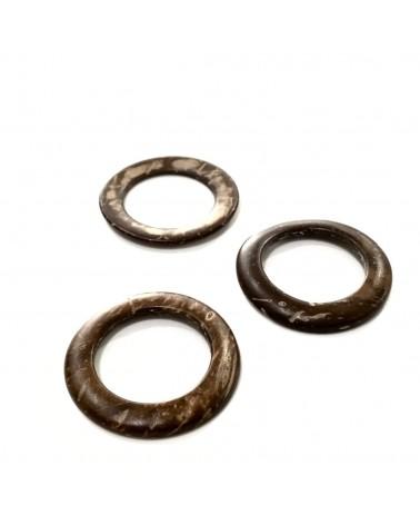 x1 perles rondelles coco 35mm
