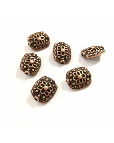 x2 perles 13x11mm