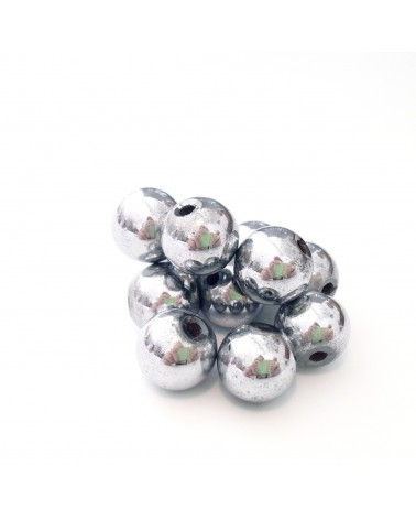 X50 Hématite Magnétiques 8mm