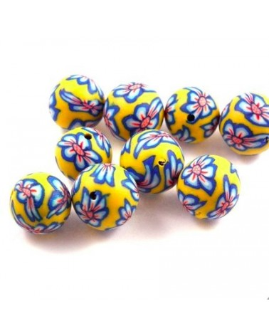 x30 perles Fimo 12mm