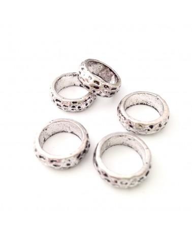perle métal rondelle 15mm