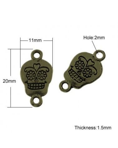 x2 connecteurs 18mm