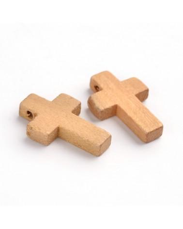 x3 Croix bois 22x14mm