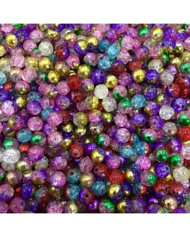 x250 MIX perles verre 6mm