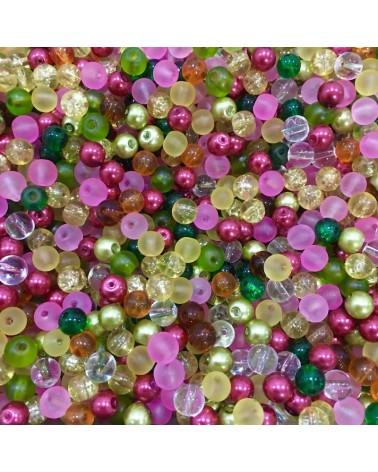 x250 MIX perles verre 6mm