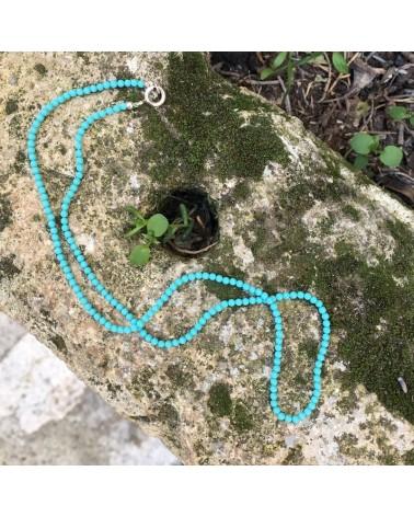 Ras de cou turquoise Argent 925