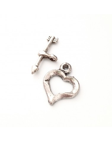 fermoir toggle coeur 18x23mm