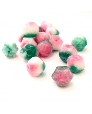 X2 Jades teintées 10mm
