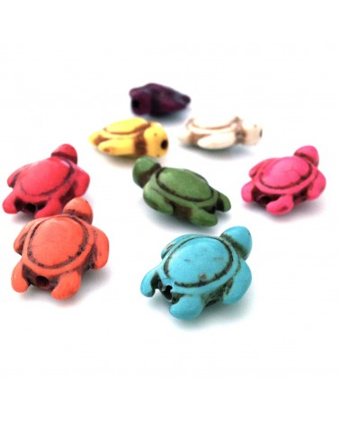 X1 Tortue Howlite 17x14mm